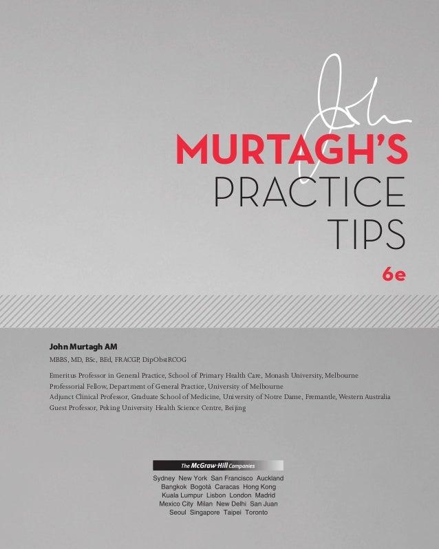 John Murtagh Patient Education Pdf