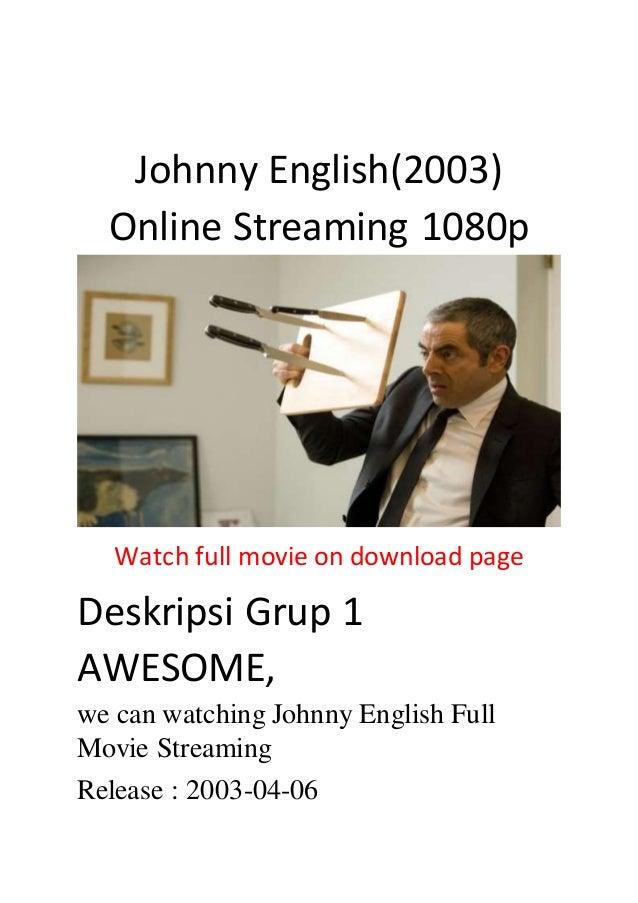 Johnny English 1 Stream