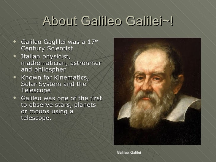Image result for astronomer galileo biography