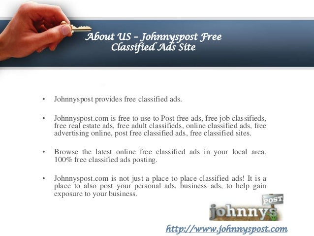 Free adult personal ads