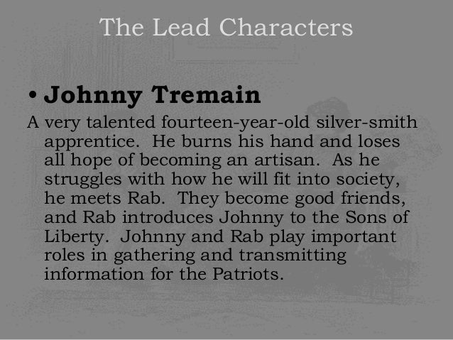 a summary of esther forbes johnny tremain Esther forbes began to write johnny tremain on december 8, 1941, the day after pearl harbor was bombed she worked on the novel at her home in massachusetts, completing it in 1943.