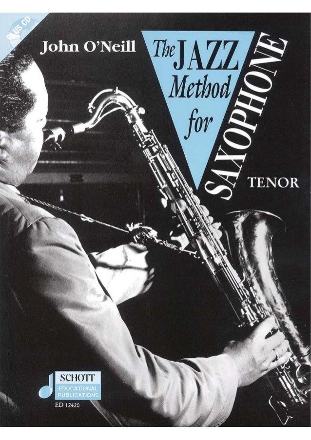 John o'neill   the jazz method for tenor sax