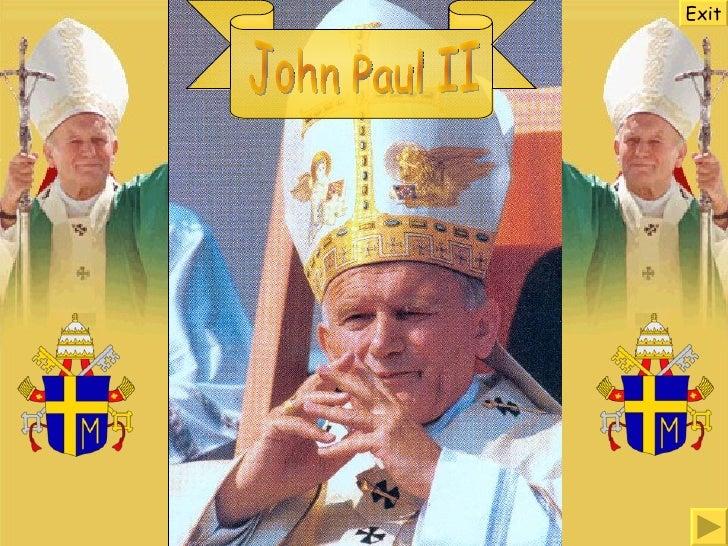 John Paul II Exit