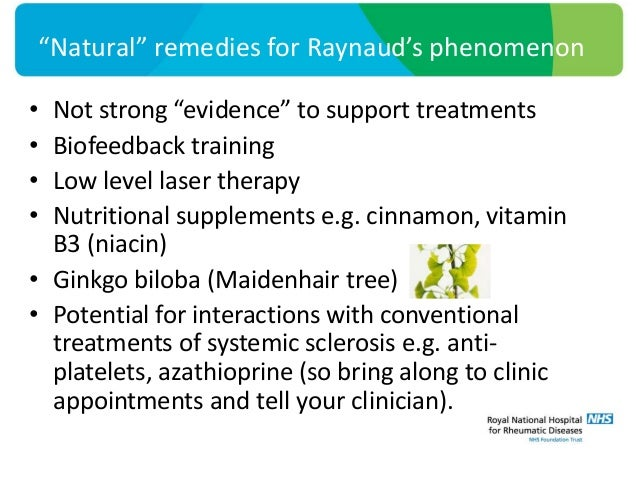 Natural Remedies For Raynaud S