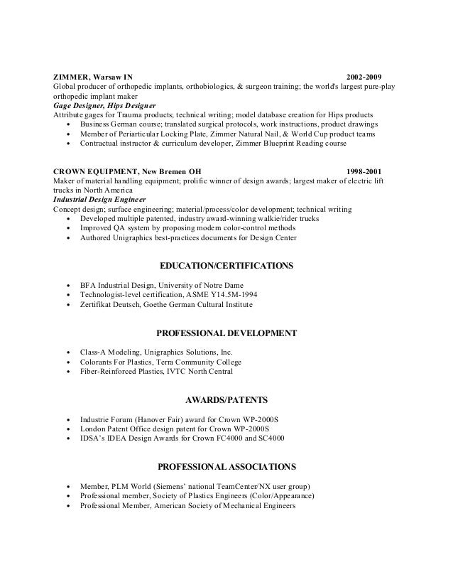 john raymond flory chronological resume 6 unigraphics designer resume