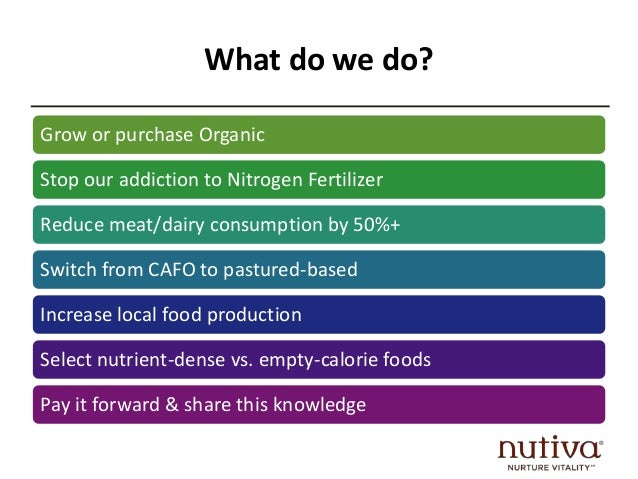 Organic Sustainable Foods: Solutions for Health Crisis & Climate Change