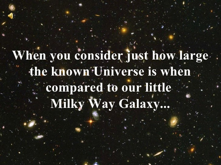 compare to the universe milky way galaxy - photo #11