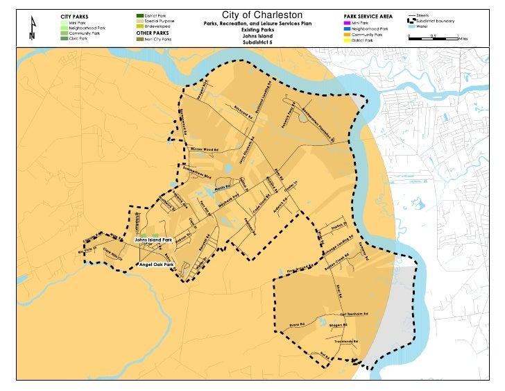 Johns island-parks-map