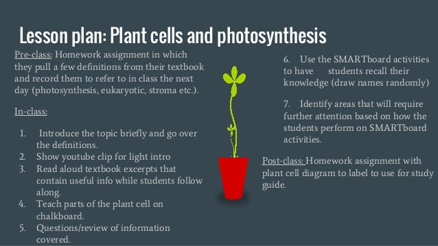 Johns708 slideshare 3 lesson plan plant cells ccuart Choice Image