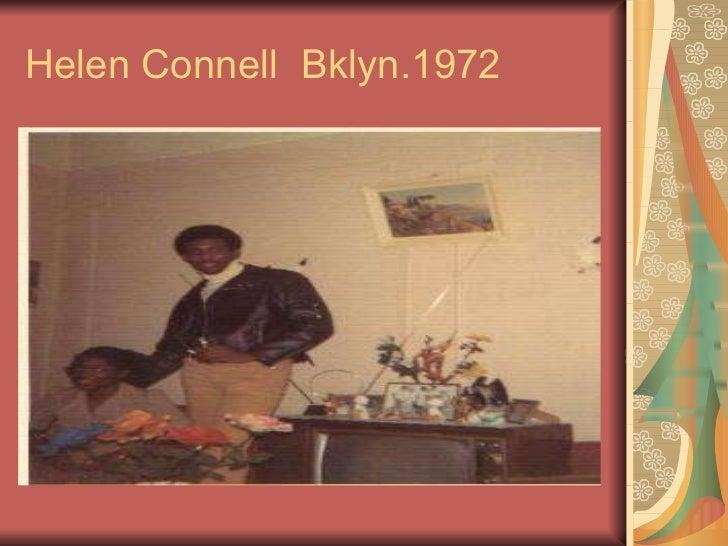 Helen Connell  Bklyn.1972