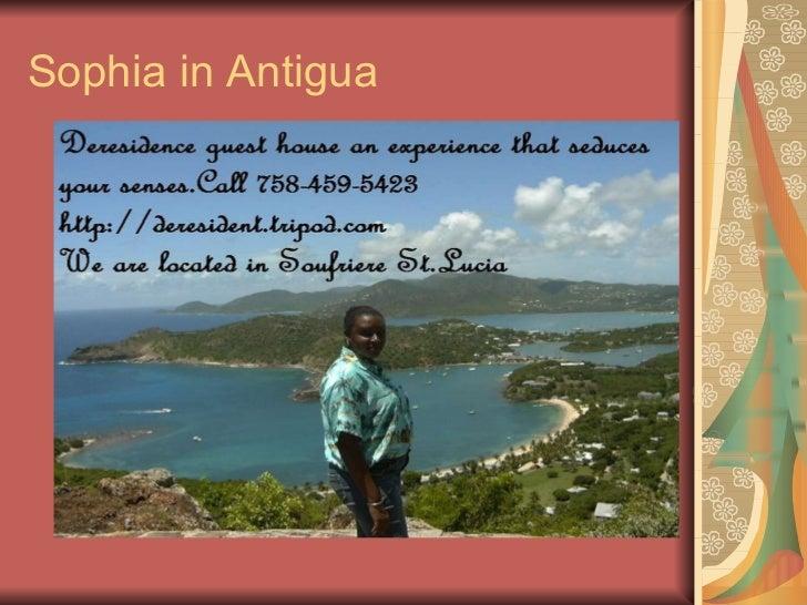 Sophia in Antigua