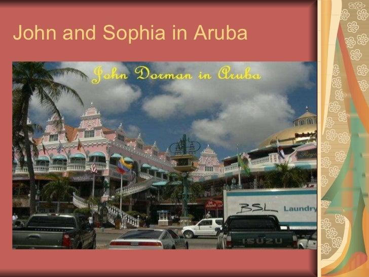 John and Sophia in Aruba