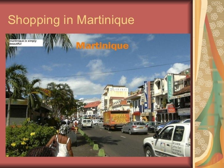 Shopping in Martinique