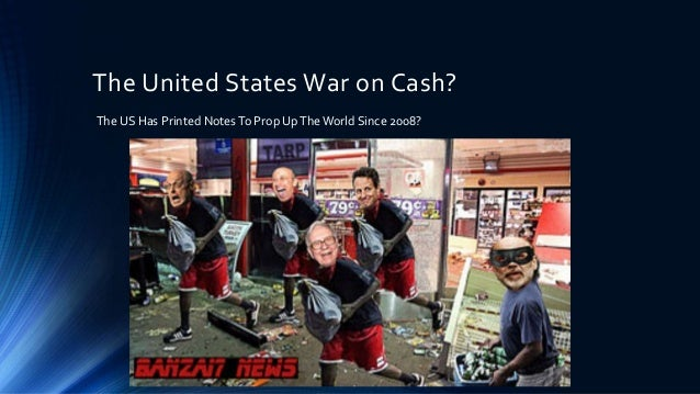 War On Cash and The Future of Cashless Money