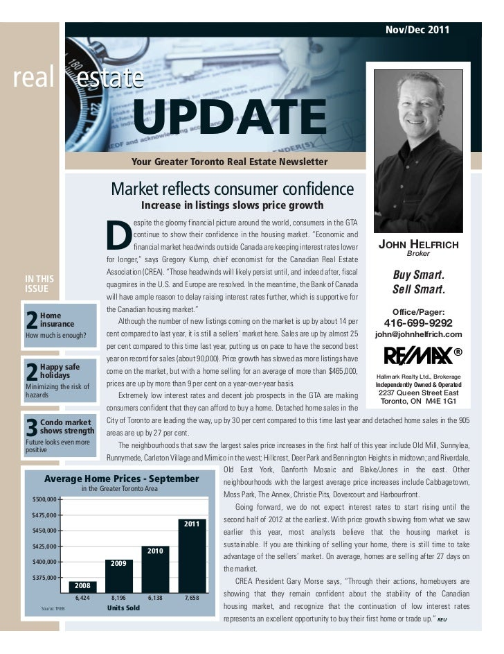 Nov/Dec 2011real estate                                       UPDATE                                       Your Greater To...