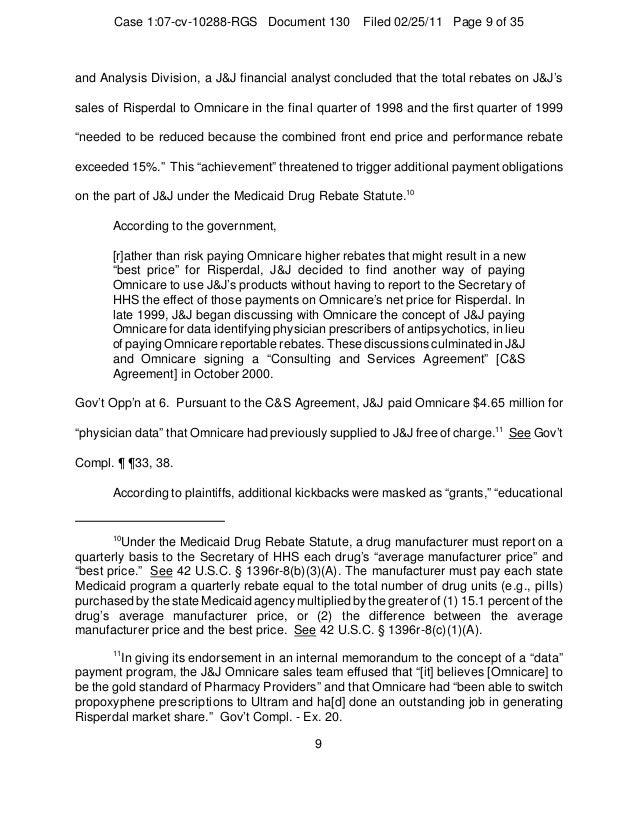 Johnson johnson-courts-decision