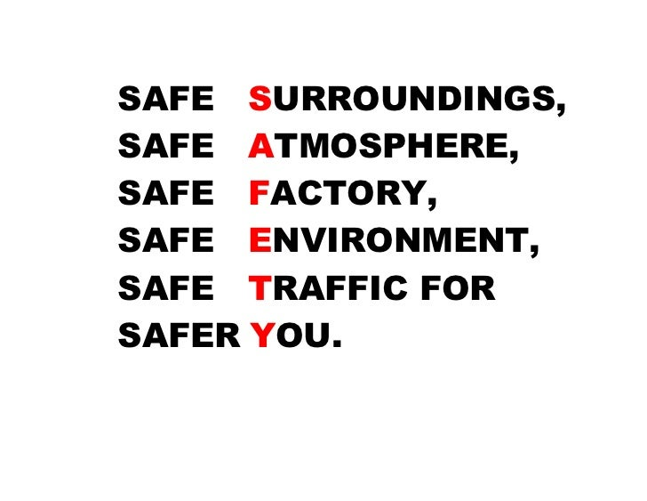 environmental safety quotes