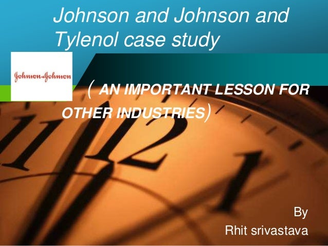 johnson johnson written case analysis