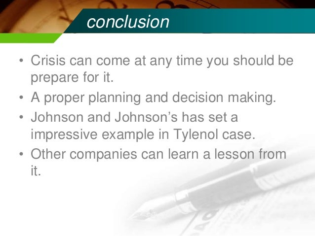 analysis on johnson johnson This assignment is on the company called johnson and johnson i have collected marketing information of this company as my topic is marketing resea.