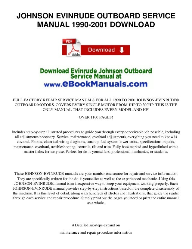 125 hp force outboard repair manual
