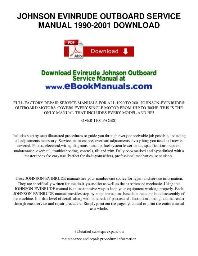 125 hp force outboard repair manual