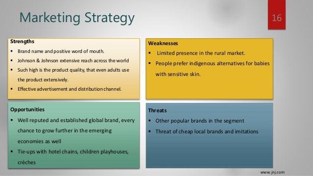 johnson and johnson marketing strategy ppt