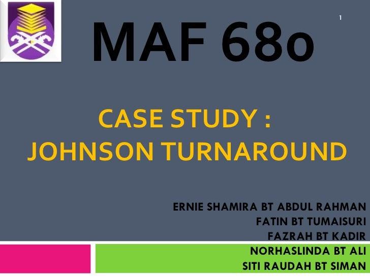 johnson case study Zephanie jordan vice president global regulatory affairs and product stewardship, johnson & johnson.