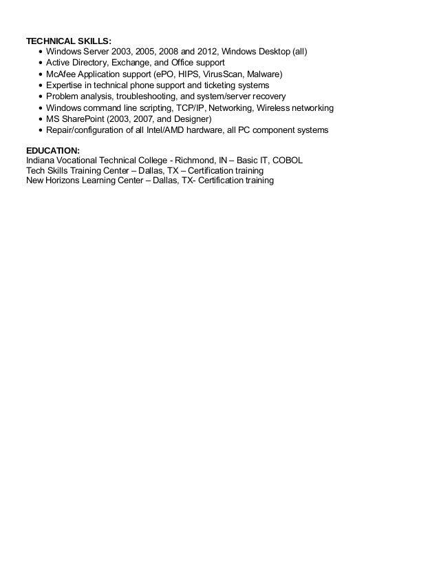 John Sparenberg Resume 2 28 16