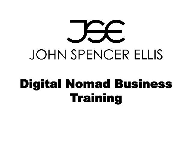 Digital Nomad Business Training