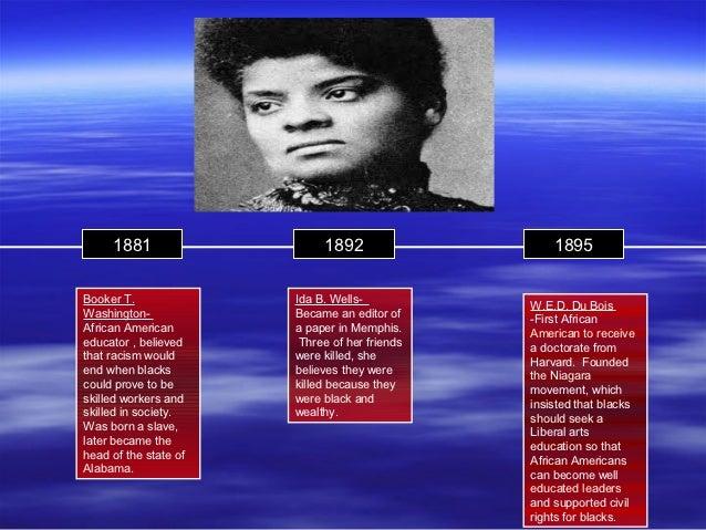 1881                   1892                   1895Booker T.              Ida B. Wells-           W.E.D. Du BoisWashington-...