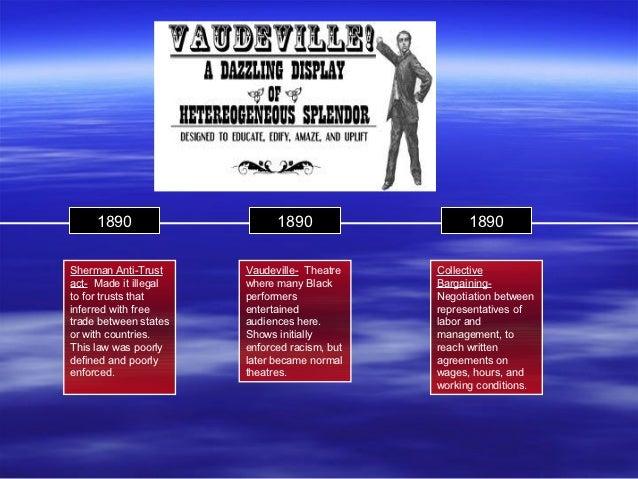 1890                    1890                   1890Sherman Anti-Trust     Vaudeville- Theatre    Collectiveact- Made it il...