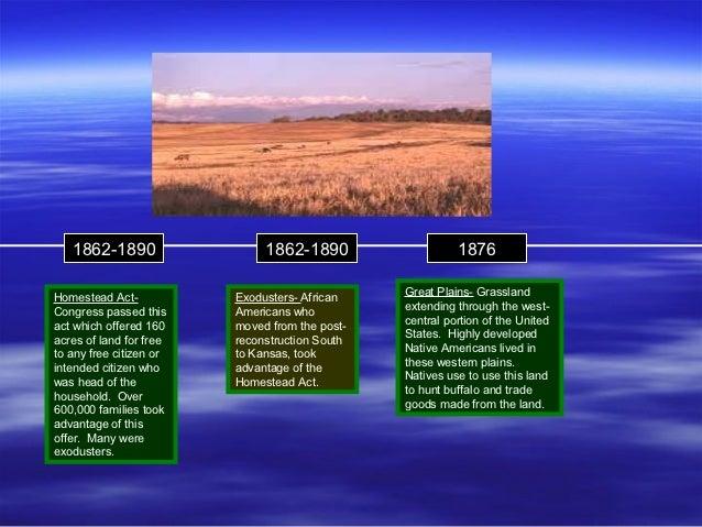 1862-1890                  1862-1890                   1876                                                Great Plains- G...