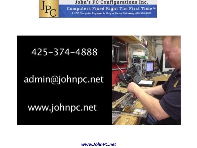 johns pc configurations inc presentation. Black Bedroom Furniture Sets. Home Design Ideas