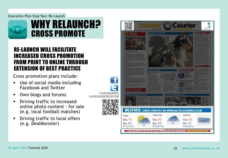Execution Plan Step Two: Re-Launch               WHY RELAUNCH?            Extend best practice consistently across        ...