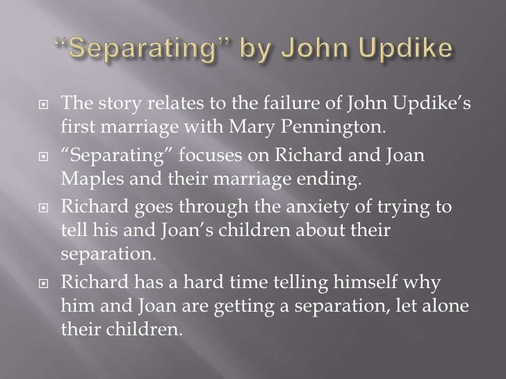 john updikes stories goes against conventional writing styles John milton essay a character and moral study of george milton: of mice and men by john steinbeck  john milton writing style essay 1828 words | 8 pages .