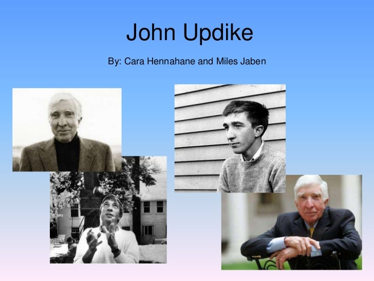 symbolism in john updikes a p essay Read this essay on john updike's a & p come browse our large digital warehouse of free sample essays get the knowledge you need in order to pass your classes and more only at termpaperwarehousecom.