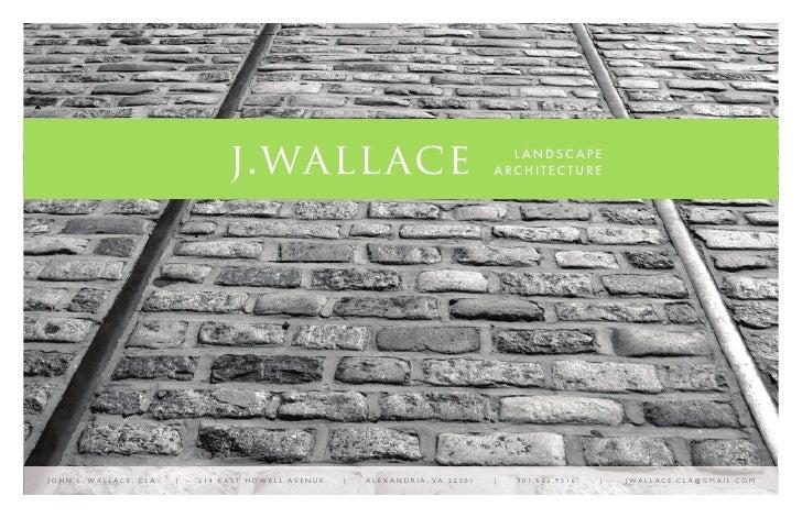 j.wallace                                                      L ANDSC APE                                                ...