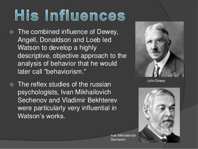 john b watson psychology as the behaviorist views it pdf