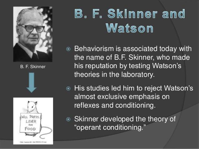 Psycholoog BF Skinner heeft twee gezichten  NRC