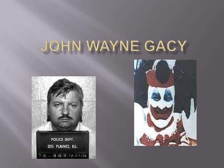 choice theory on john wayne gacy John wayne gacy -- an outwardly john wayne gacy he told the officers that john szyc had sold him would conflict with the defense theory that gacy was insane.