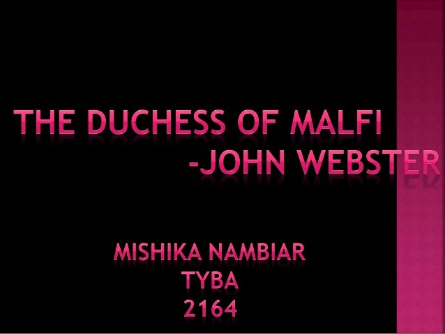 duchess of malfi essay topics