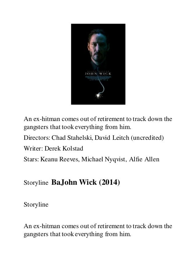 John Wick Full Movie Free Download Mp4 Movie John Wick Torrent