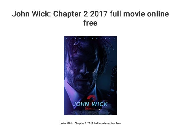 john wick chapter 2 full movie online free