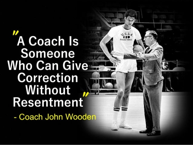 John wooden Quotes to Live By