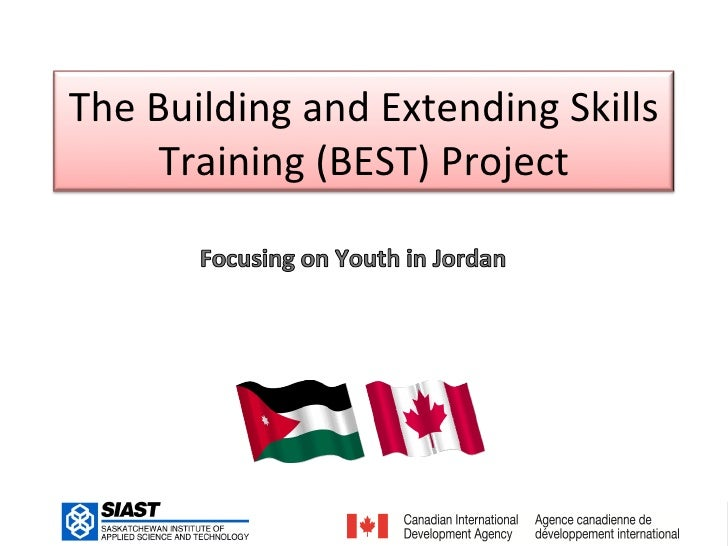 The Building and Extending Skills     Training (BEST) Project                                    1