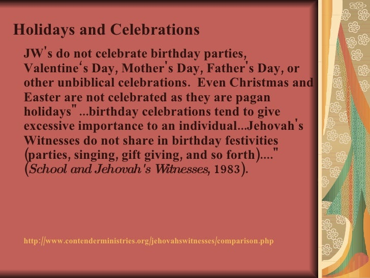 Johovah'S Witnesses