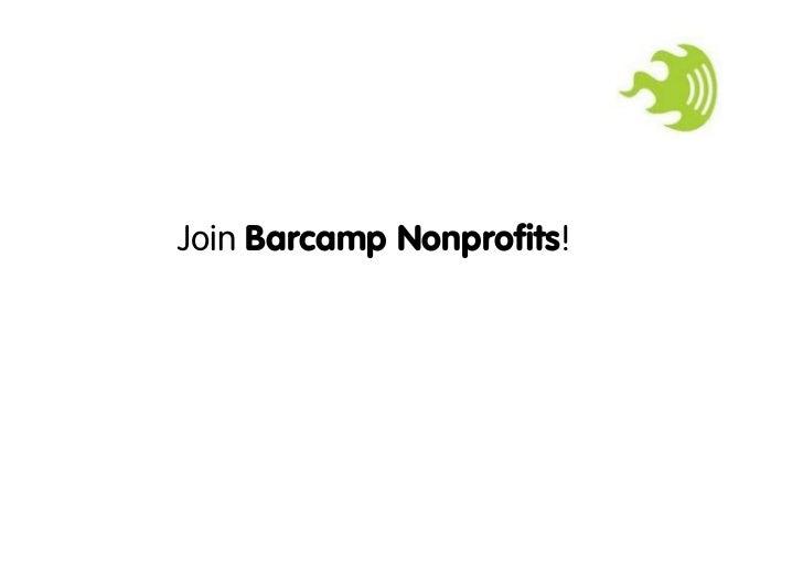 Join Barcamp Nonprofits!