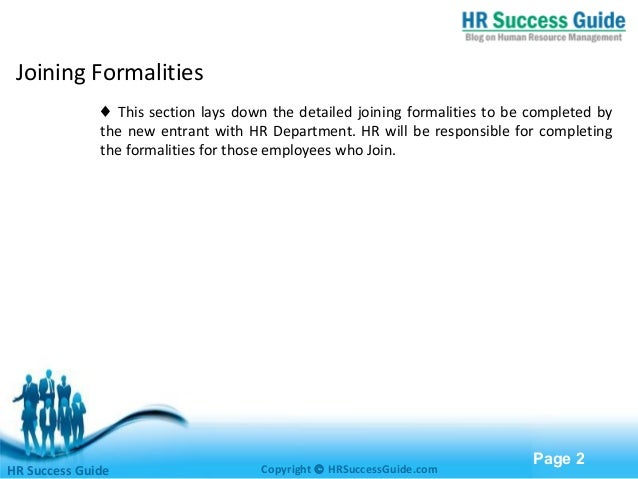 joining formalities of new employee  induction of new employees, joining formalities, post recruitment activity, background verification and vendor management hr consultant – human resources.