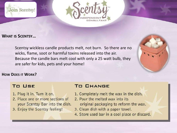 how to explain what scentsy is