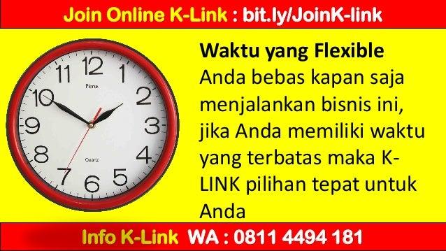 Cara menjadi member K-Link